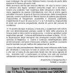 Da Bergamo adesione e partecipazione al corteo del 19/03: Achtung! Repressione!
