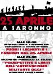 Saronno: fuori leghisti e fascisti dal 25 aprile!