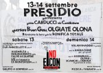 13-14/09: Per la bonifica totale! Presidio permanente a Olgiate Olona!