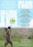 Milano, 8 marzo. Dalle donne del Rojava a noi.