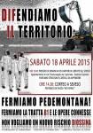 Seveso: 18 aprile: Corteo No Pedemontana!