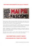 I fascisti di Forza Nuova scacciati da Tradate