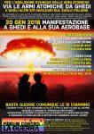 20 gennaio: Via le armi atomiche da Ghedi!