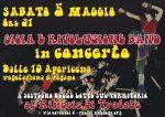 5 maggio, apericena e concerto al Kinesis