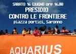 Presidio contro le frontiere a Saronno