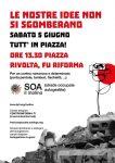 Saronno, Lugano... T.A.Z., occupazioni, sgomberi, cortei...